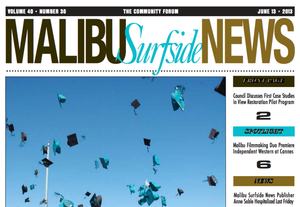the malibu surfside news cover