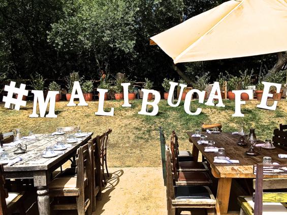 Malibu Buzz   A Visit to Malibu Cafe   All Things Malibu