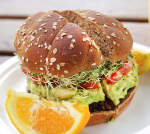 John's Garden Blackbean Burger